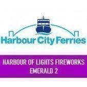 NYE 2018 Sydney Harbour of Lights 9pm & Midnight Fireworks: Emerald 2 Depart Circular Quay