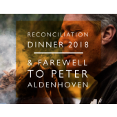 Reconciliation Dinner - farewell to Peter Aldenhoven