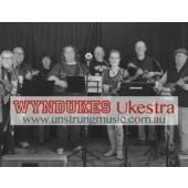Wyndukes Ukestra - Contemporary Ukulele group