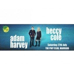 Adam Harvey & Beccy Cole