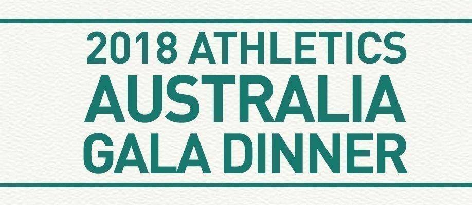 2018 Athletics Australia Gala Dinner