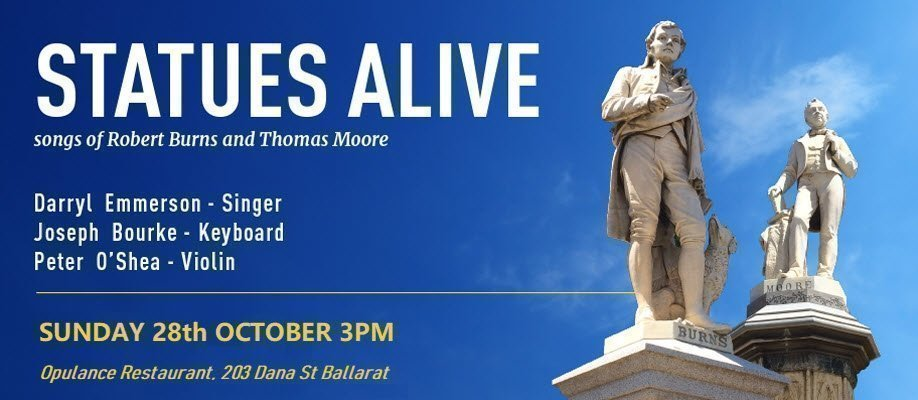 Statues Alive: Songs of Robert Burns and Thomas Moore