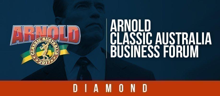 Arnold Classic Australia Business Forum: DIAMOND PACKAGE