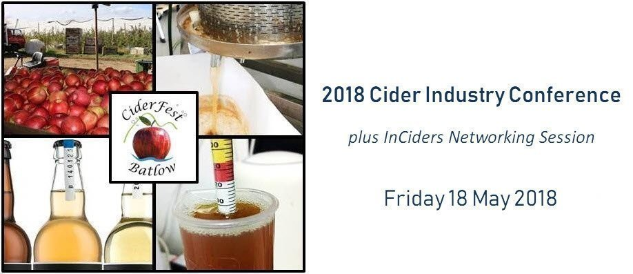 2018 Cider Industry Conference
