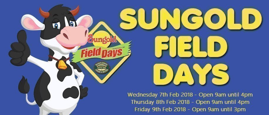 Sungold Field Days 2018