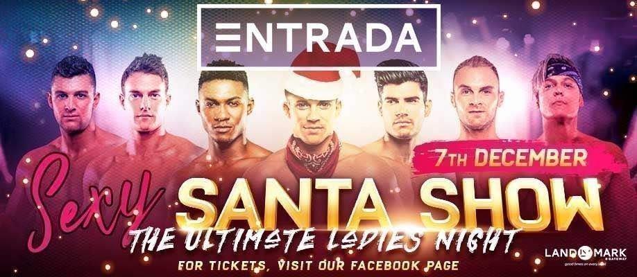 Sexy Santa Show at Entrada