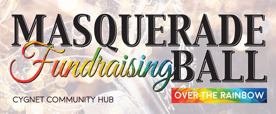 Over the Rainbow  Masquerade Fundraising Ball for Cygnet Community Hub