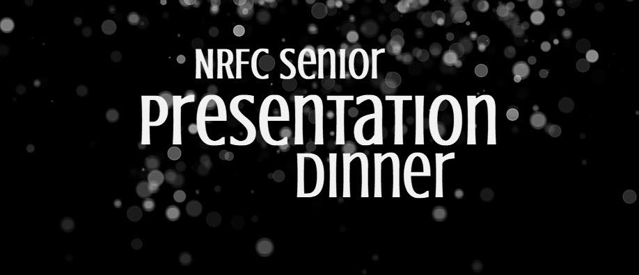NRFC Senior Presentation Dinner 2019
