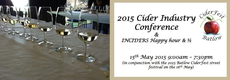 2015 Cider Industry Conference & InCiders Happy Hour
