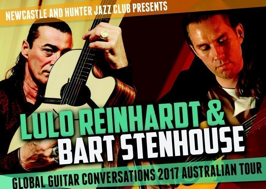 Lulo Reinhardt & Bart Stenhouse | Global Guitar Conversations 2017 Australian Tour