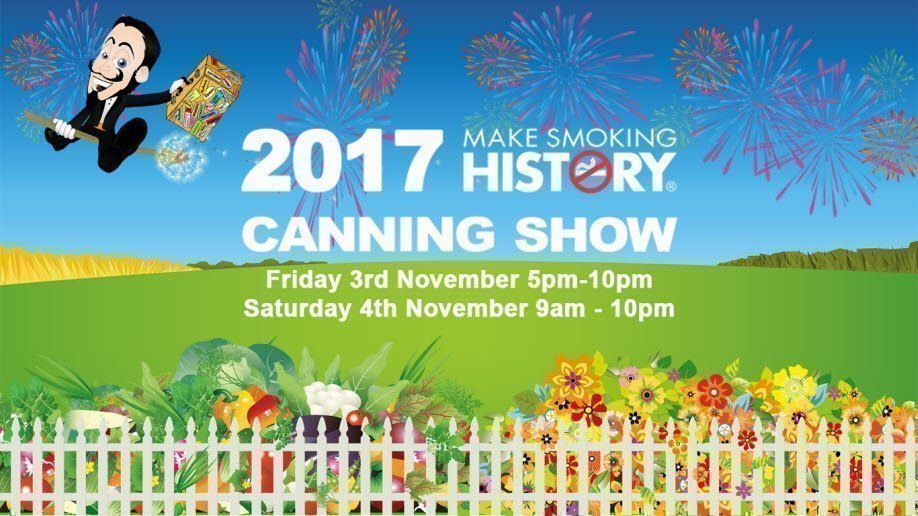 2017 Make Smoking History Canning Show