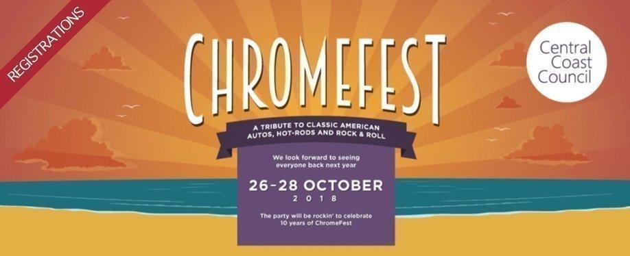 Chromefest | Car & Caravan Registration Page