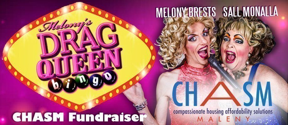 Melony's Drag Queen Bingo - Chasm Maleny Fundraiser