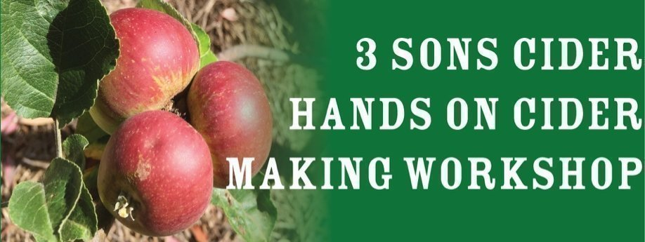 Hands-on Cider Making Workshop