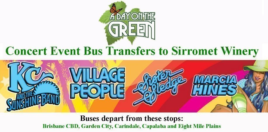 A Day on the Green Disco Fever Bus Transfers: Sunday 17 December 2017