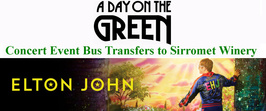 A Day on the Green with Elton John Bus Transfers: Sunday 19 January 2020