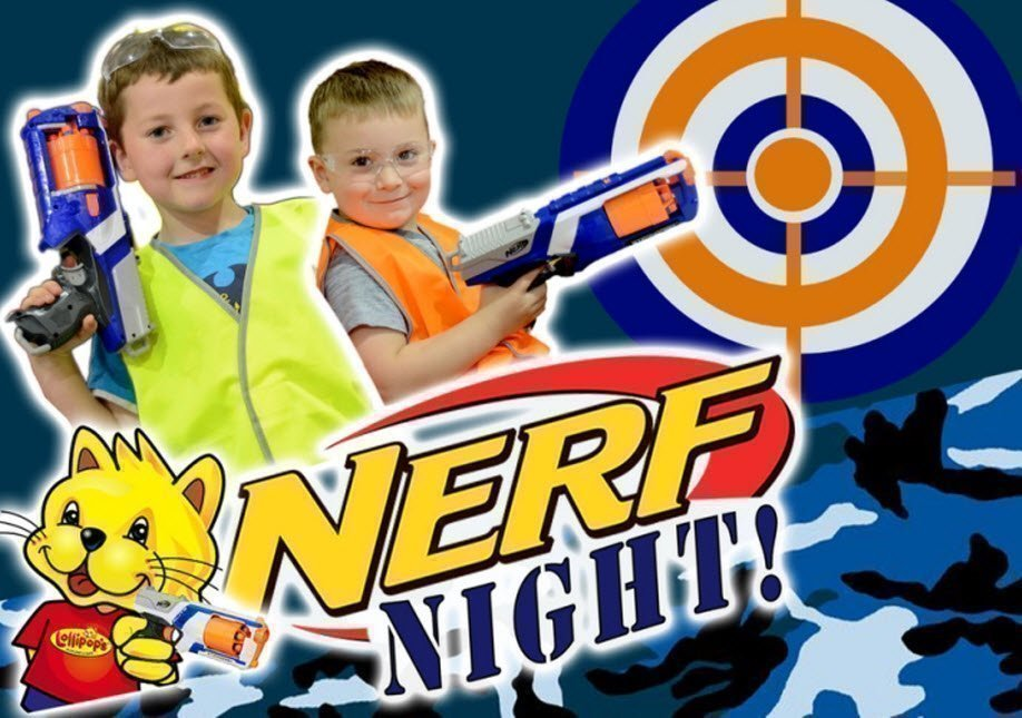 Lollipops Bayswater Nerf Night - September