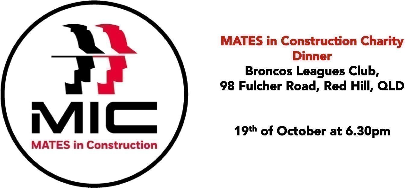Mates In Construction Charity Dinner