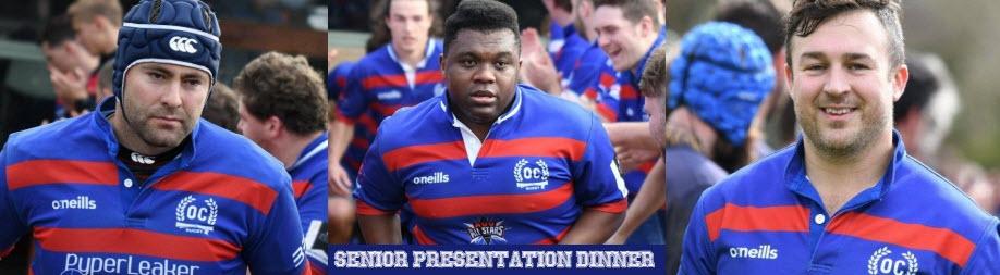 Old Collegians Senior Presentation Dinner 2019