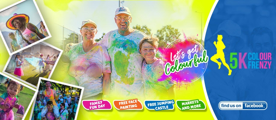 Hobart 5k Colour Frenzy Walk / Run