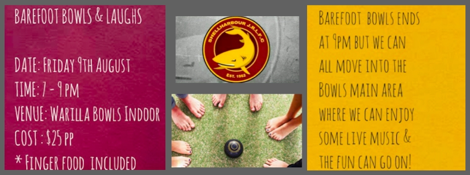 BAREFOOT BOWLS AND LAUGHS
