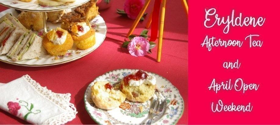 Eryldene Afternoon Tea, April Open Weekend