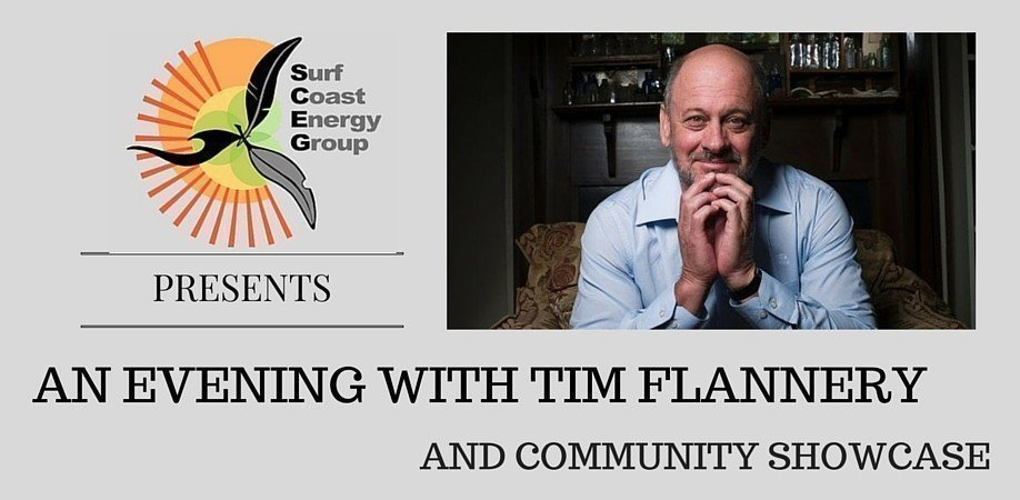 An Evening with Tim Flannery and Community Showcase