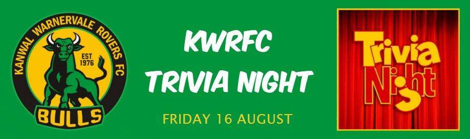 KWRFC Trivia Night 2019