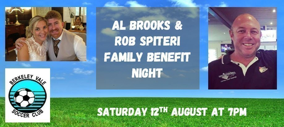 Al Brooks and Rob Spiteri Family Benefit Night