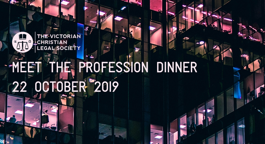 Meet the Profession Dinner 2019