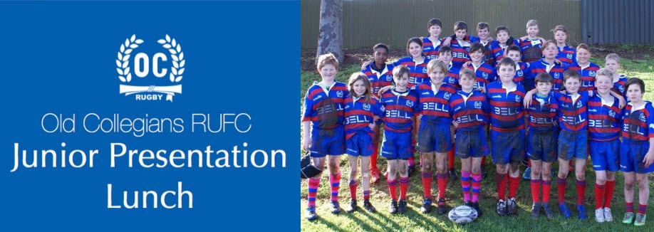 Old Collegians RUFC 2019 Junior Presentation Lunch
