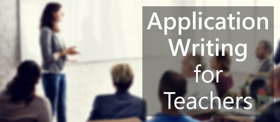 Application Writing Workshop for Teachers | Port Adelaide