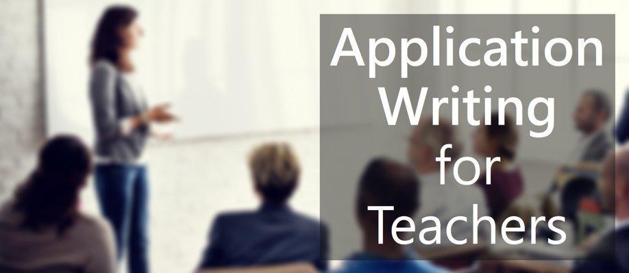 Application Writing Workshop for Teachers | Port Adelaide