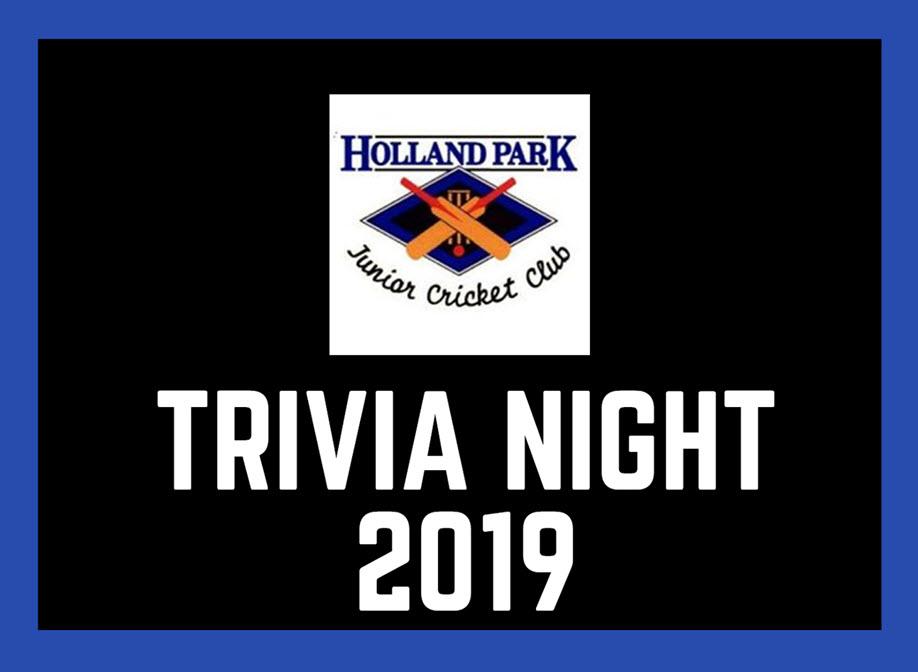 HPJCC Trivia Night 2019