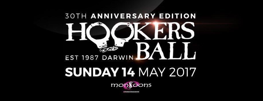 Hookers ball darwin