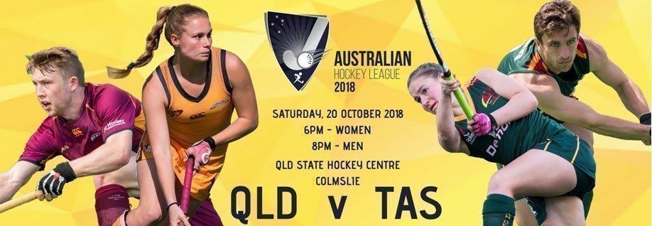 Australian Hockey League (AHL) - QLD v TAS