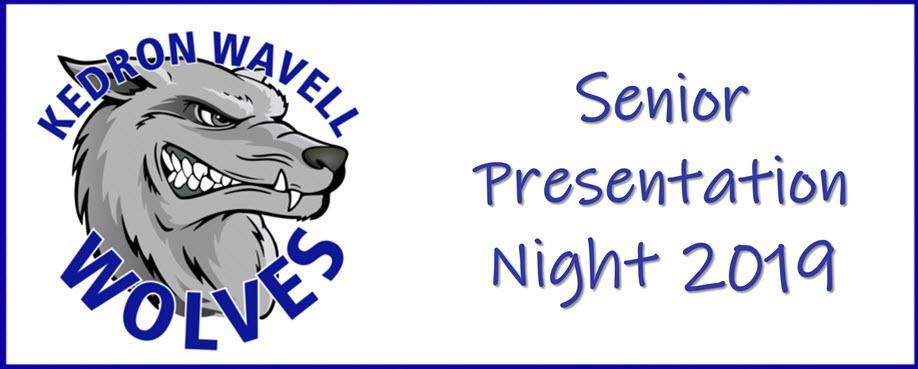 Senior Presentation Night 2019