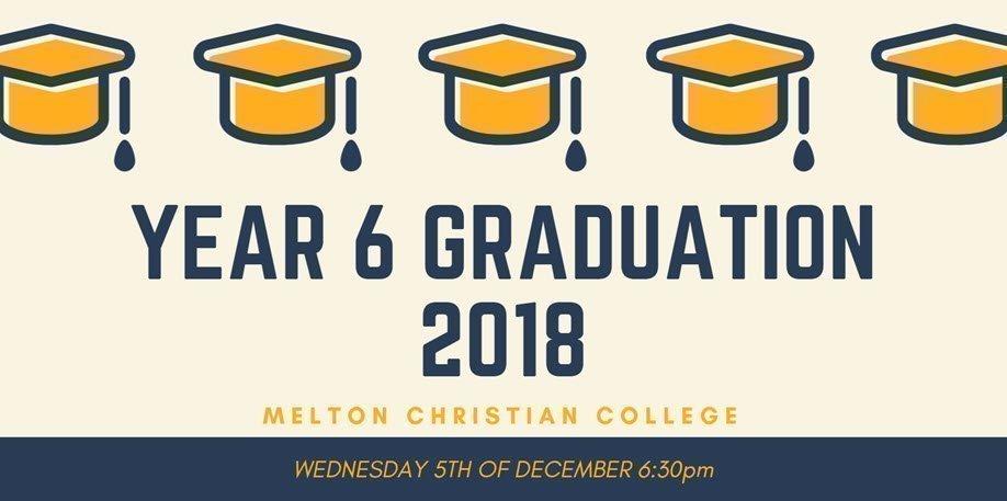 Melton Christian College Year 6 Graduation 2018
