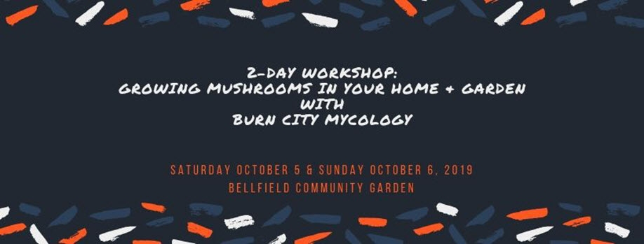 Growing Mushrooms in Your Home & Garden – 2 Day Workshop