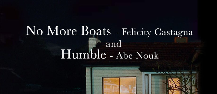 Author Talk: No More Boats – Felicity Castagna & Humble – Abe Nouk