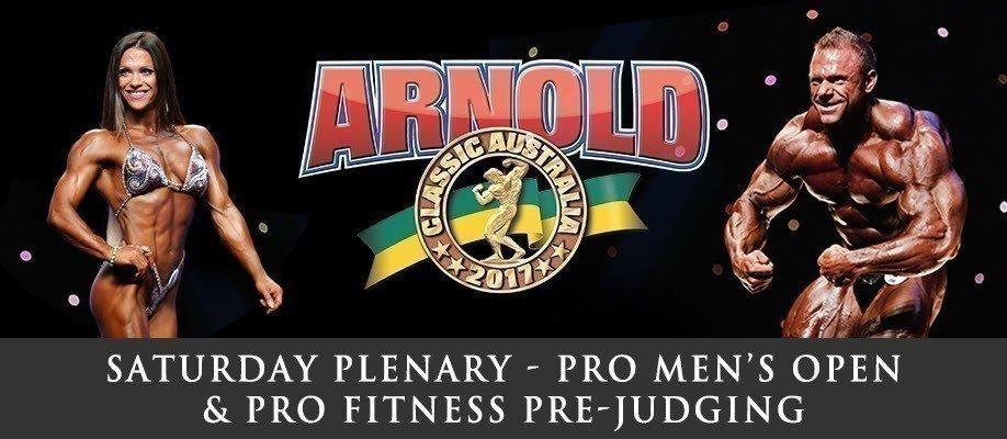IFBB Pro Open Men's Pre-Judging & Pro Women's Fitness Pre-Judging