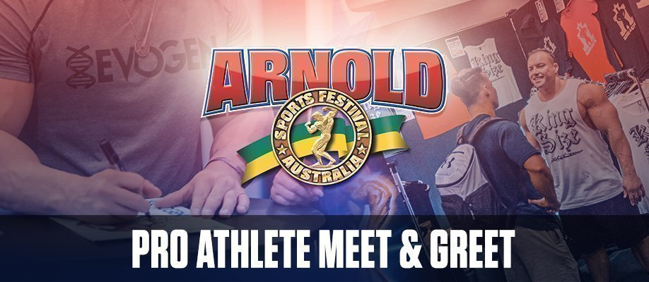 Arnold Sports Festival 2018: Pro Athlete Meet & Greet