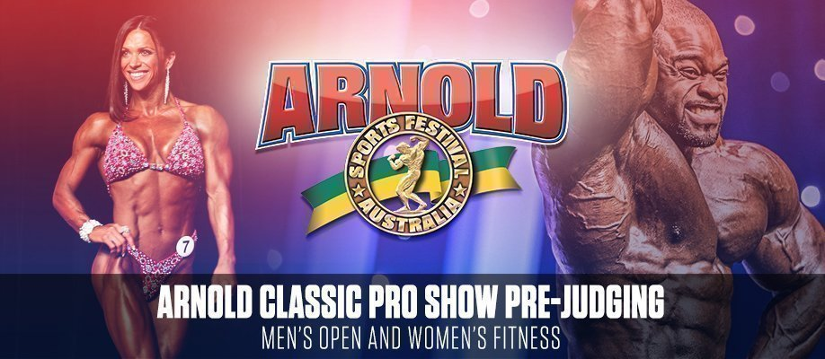 Arnold Classic 2018: Pro Show Pre-Judging