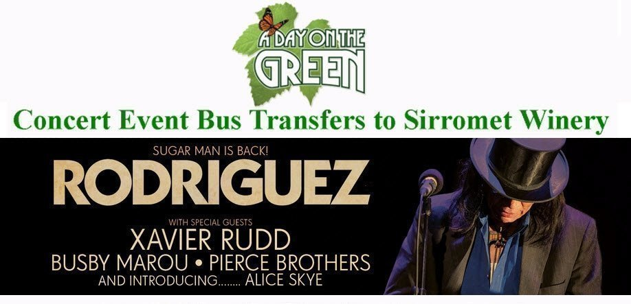 A Day on the Green Rodriguez Bus Transfers