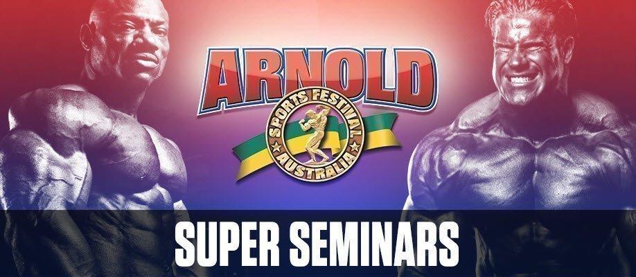 Arnold Sports Festival 2018 Super Seminars