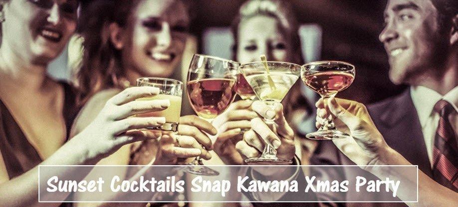 Sunset Cocktails Snap Kawana Xmas Party