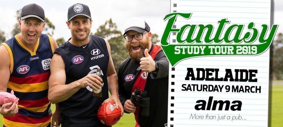 AFL Fantasy Study Tour 2019: Adelaide