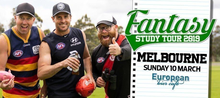 AFL Fantasy Study Tour 2019: Melbourne