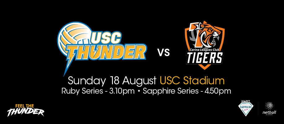 HART Sapphire Series, Round 9 – USC Thunder v Carina Leagues Club Tigers