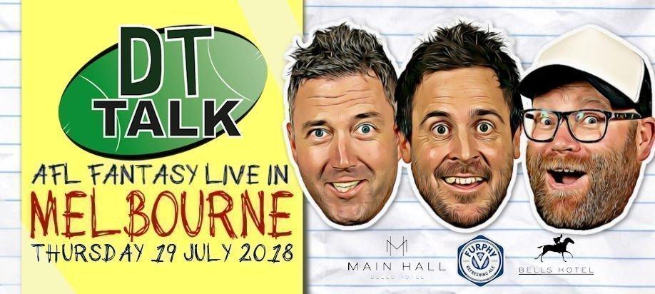 DT Talk Live in Melbourne